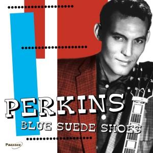 CARL PERKINS blue suede shoes 45
