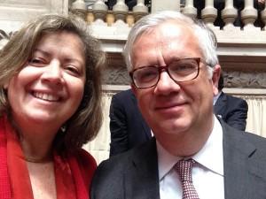 Casal Ana Paula Vitorino e Eduardo Cabrita
