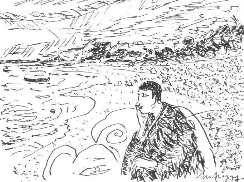 Meloncólico como Munch
