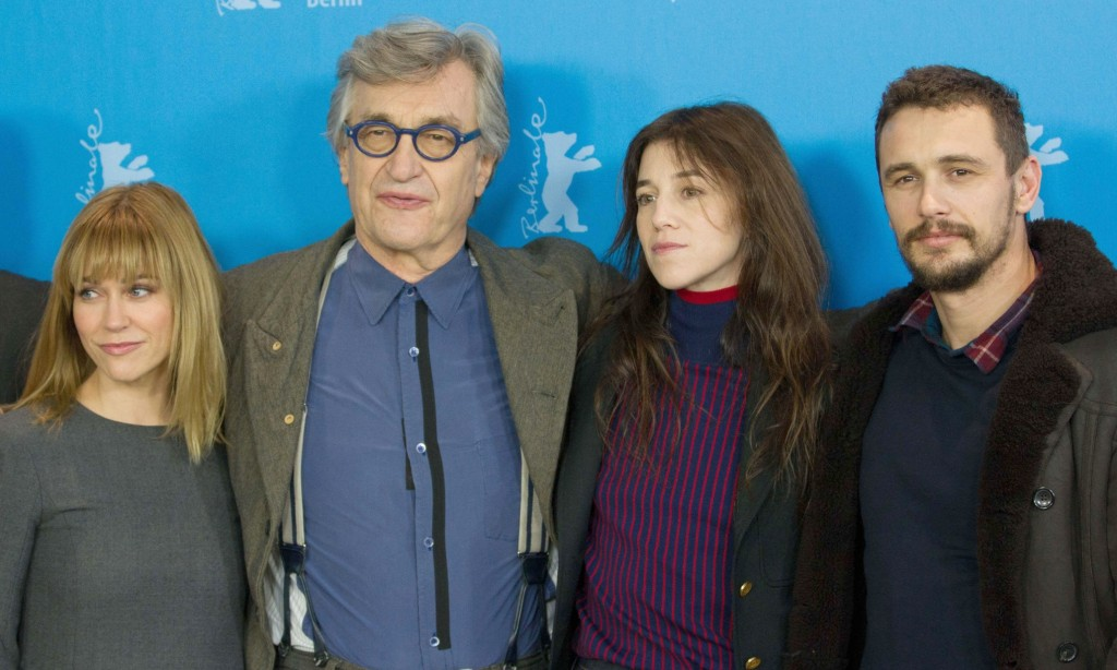 Mandatory Credit: Photo by COLLET GUILLAUME/SIPA/REX (4426681g) Marie-Josee Croze, Wim Wenders, Charlotte Gainsbourg and James Franco 'Every Thing Will Be Fine' film photocall, 65th Berlinale International Film Festival, Berlin, Germany - 10 Feb 2015