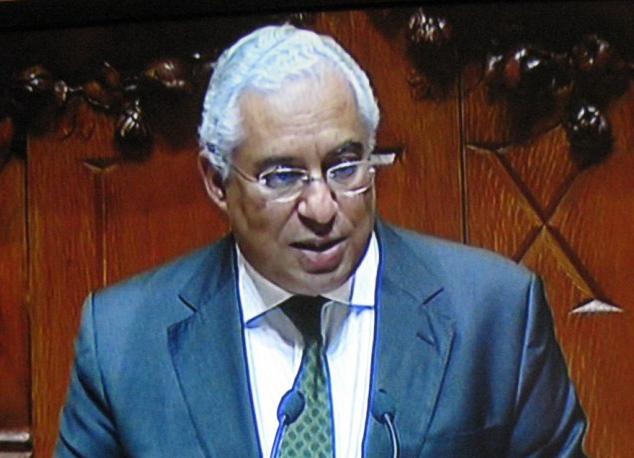 António Costa, na sua primeira mensagem de Natal como primeiro-ministro