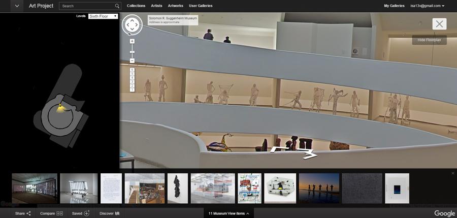 Museu Guggenheim no Google Art Project