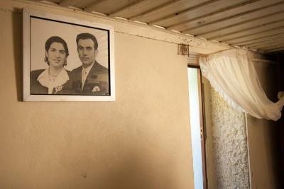 Fotografia do casal: Ti Maria Zé e Ti Amadeu