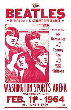 BEATLES 1964-dc-concert