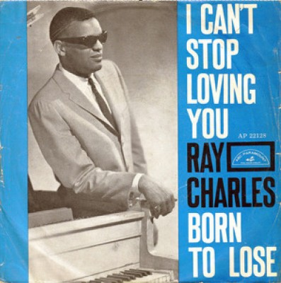 Ray Charles I Cant Stop Loving You Hide Nor Hair