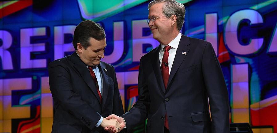 Jeb Bush, anunciou apoiar o senador Ted Cruz