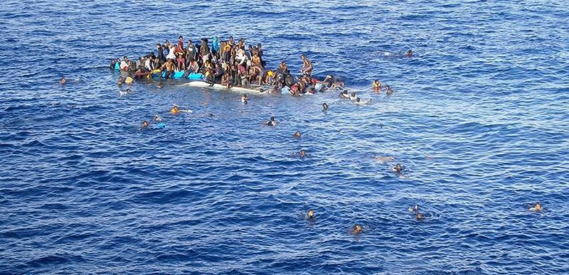 Refugiados e Migrantes no Mediterraneo
