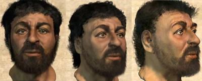 Retrato do terrorista depois de detido
