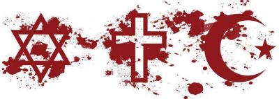 mapa de sangue de uma longa história de incompreensão