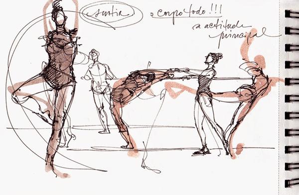 Desenho de Mónica Cid, Urban Sketchers Portugal