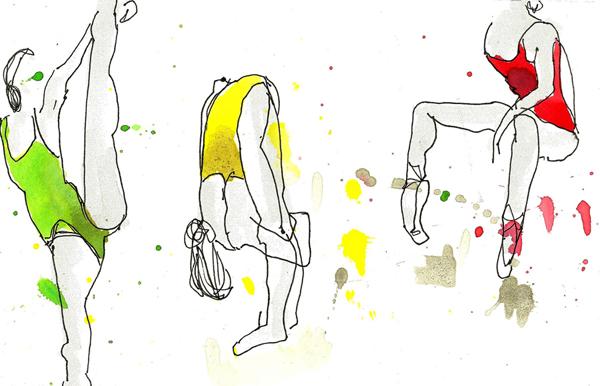 Desenho de Teresa Ruivo, Urban Sketchers Portugal