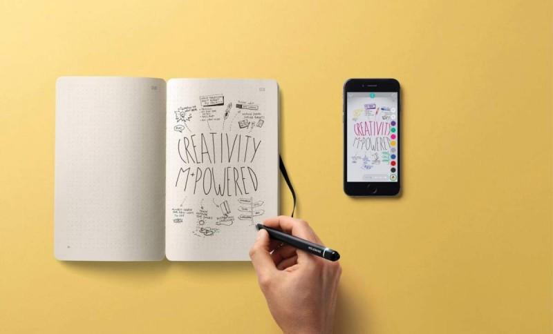 caneta-bloco-notas-digital