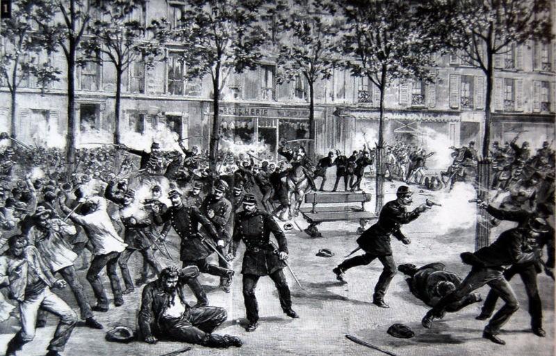 1º Maio 1890, Chicago