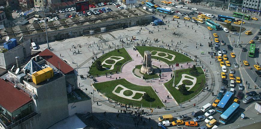 Istambul-Praca-Taksim
