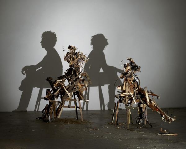 Trabalho de Tim Noble & Sue Webster