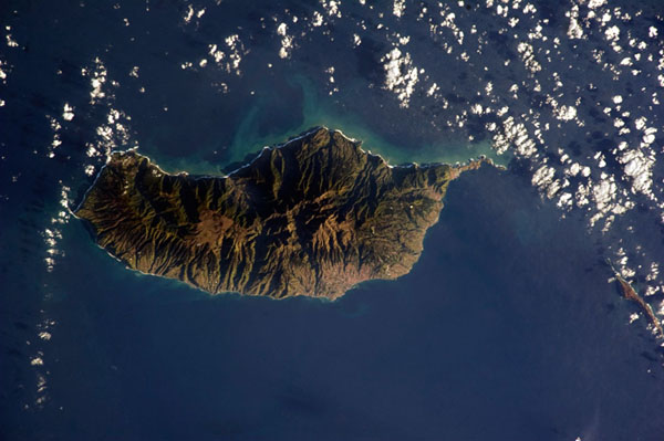 Foto de Chris Hadfield - Ilha da Madeira
