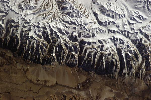 Foto de Chris Hadfield - Himalaias
