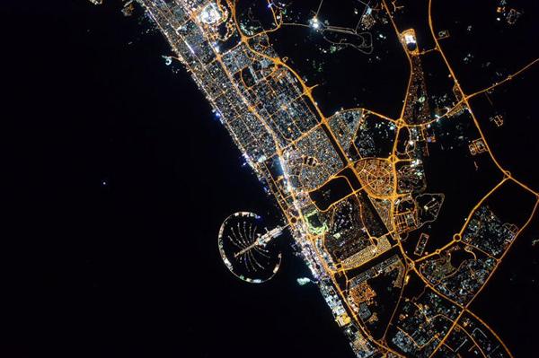 Foto de Scott Kelly - Dubai