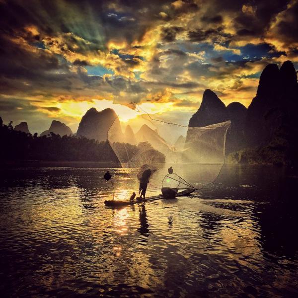 Pôr-do-Sol, 2º Prémio: Yongmei Wang