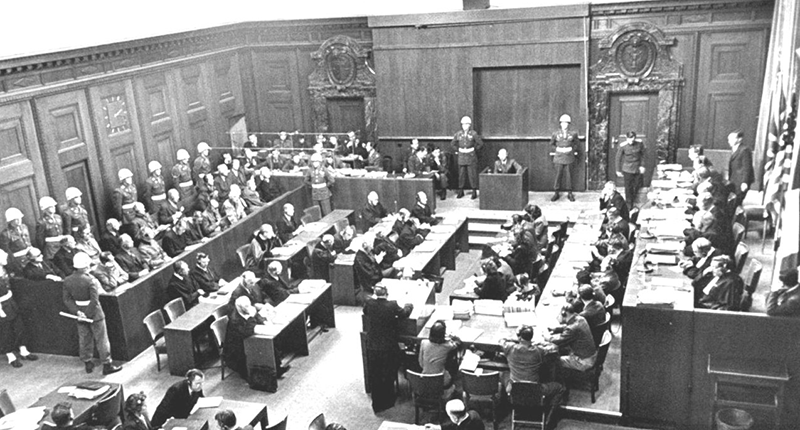 Setembro de 1935 - Tribunal de Nuremberg