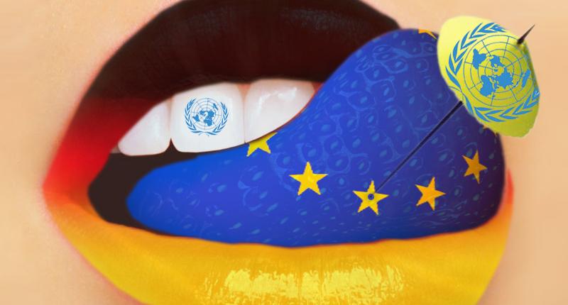 Striptease político da Comissão Europeia no palco da ONU e do Direito Internacional
