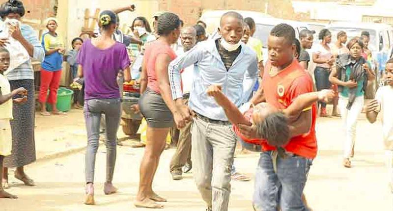 Desmaios em Luanda