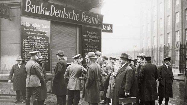 Corrida aos bancos alemães, 1930