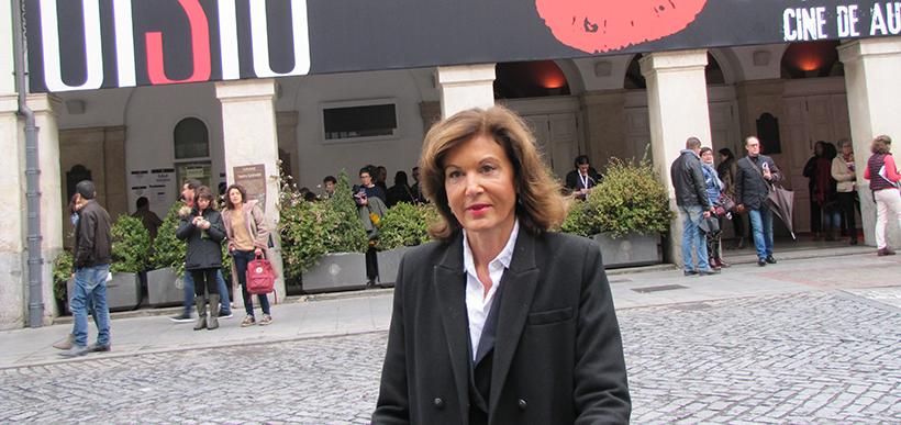"""Anne Fontaine, realizadora francesa, do filme """"Agnus Dei - As Inocentes"""""""