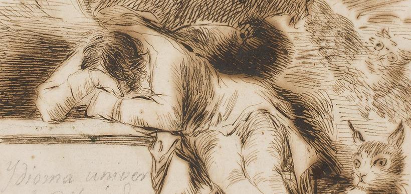 Goya, El sueño de la razon produce monstruos