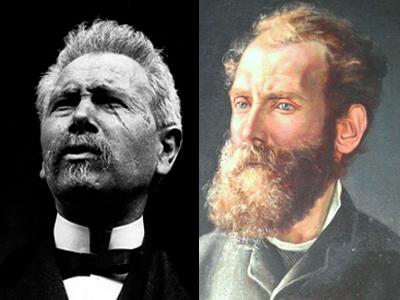 Teófilo Braga e Antero de Quental