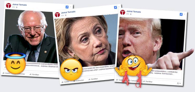 O dia seguinte: Bom, mau e vilão | Bernie, Hillary e Trump