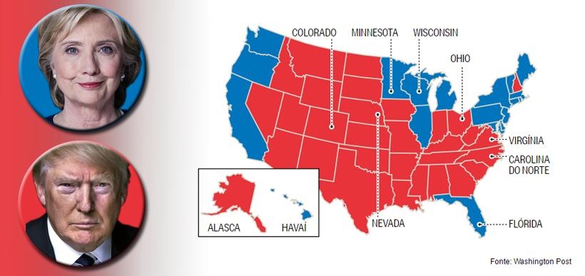 Eleições americanas | Colégio eleitoral
