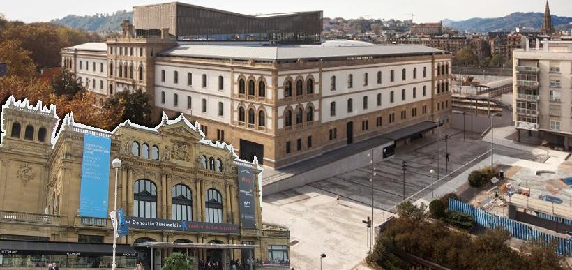 Teatro Victoria Eugénia, e Tabakalera donostia San Sebastián | ZINEMALDIA