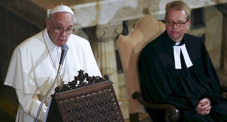Ecumenismo | Papa Francisco na Igreja Luterana, em Roma
