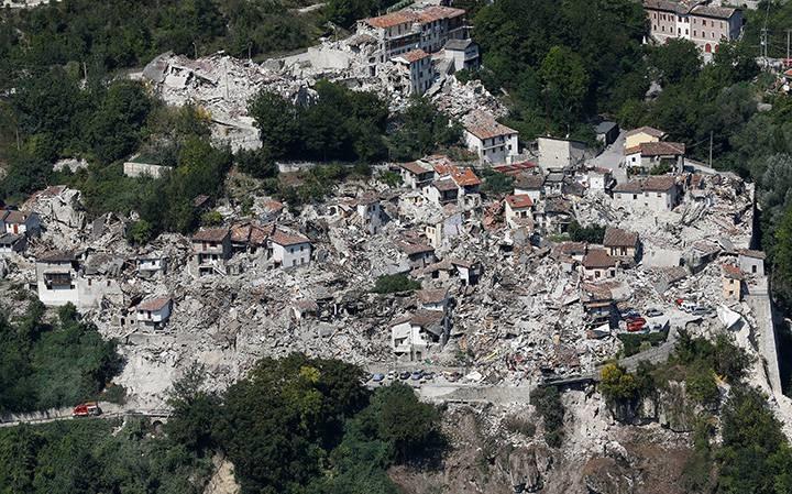 Itália, sismo