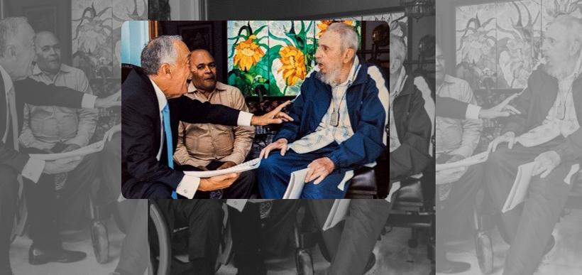 Marcelo visitou Fidel Castro, em Cuba