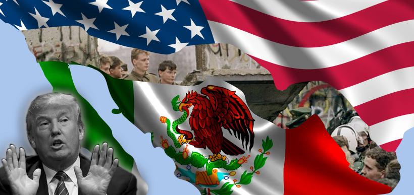 Muro entre Estados Unidos e o México