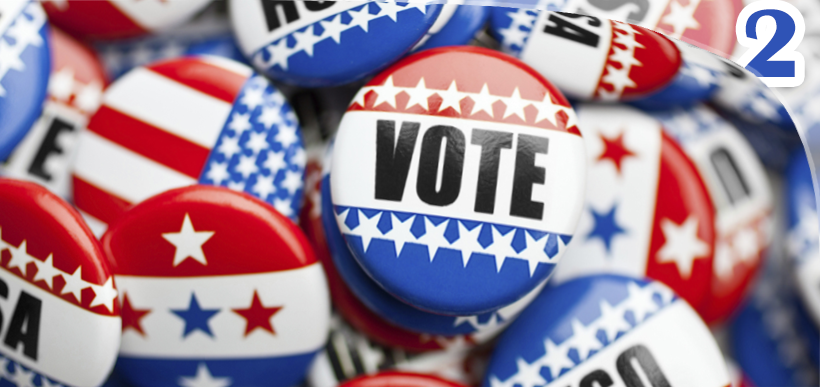 pins eleições americanas 2