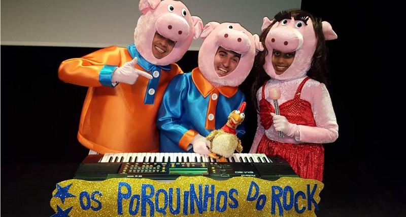 3 Porquinhos