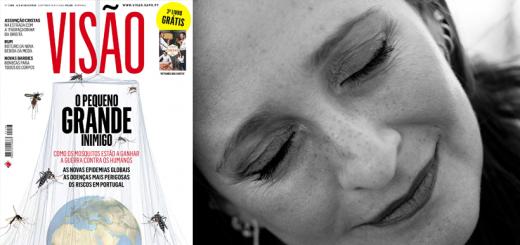 Ana Margarida Carvalho e a Revista visão - A lei da selva