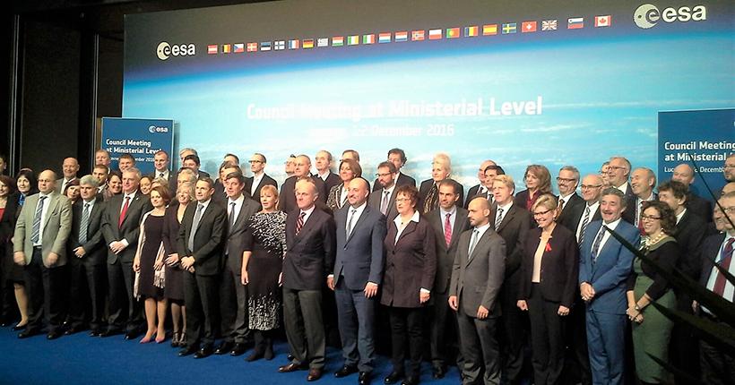 Manuel Heitor participou no Conselho Ministerial da Agência Espacial Europeia (ESA), em Lucerna