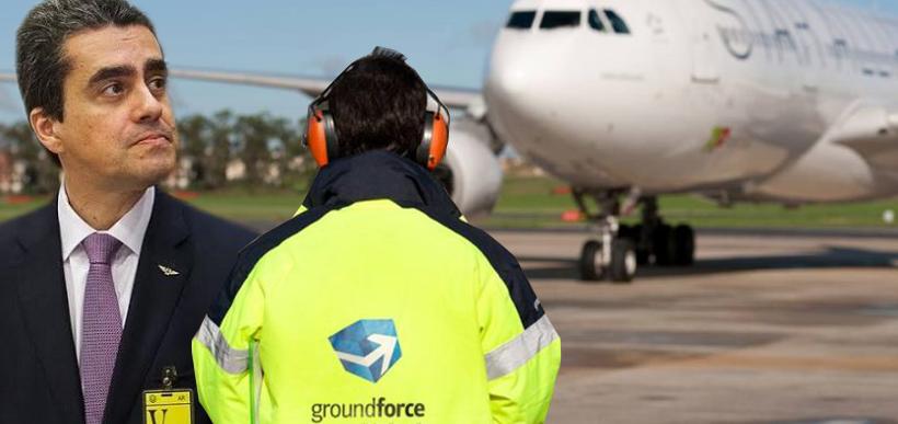 Greve parcial Aeroporto de Lisboa | GroundForce