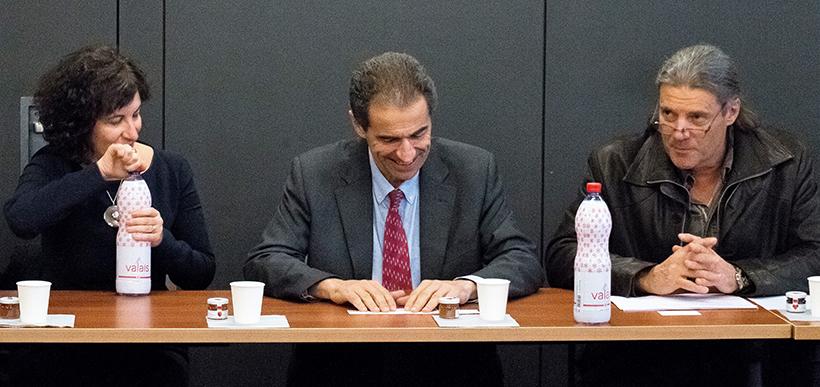 Manuel Heitor, ministro português da Ciência, Tecnologia e Ensino Superior em terras helvéticas - interessado no sistema suíço de ensino especializado