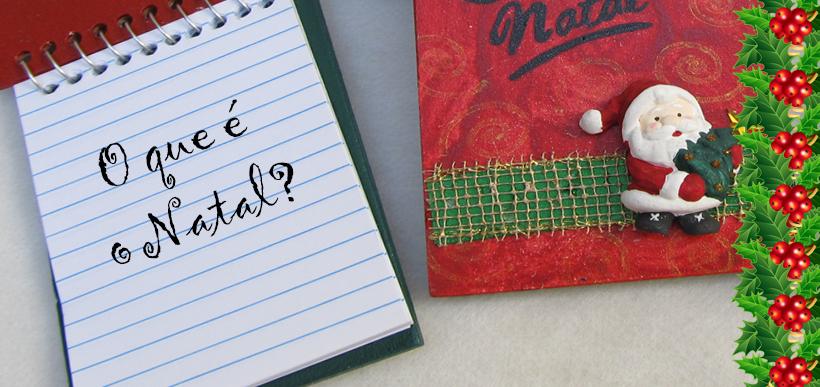 Para um caderninho de Natal