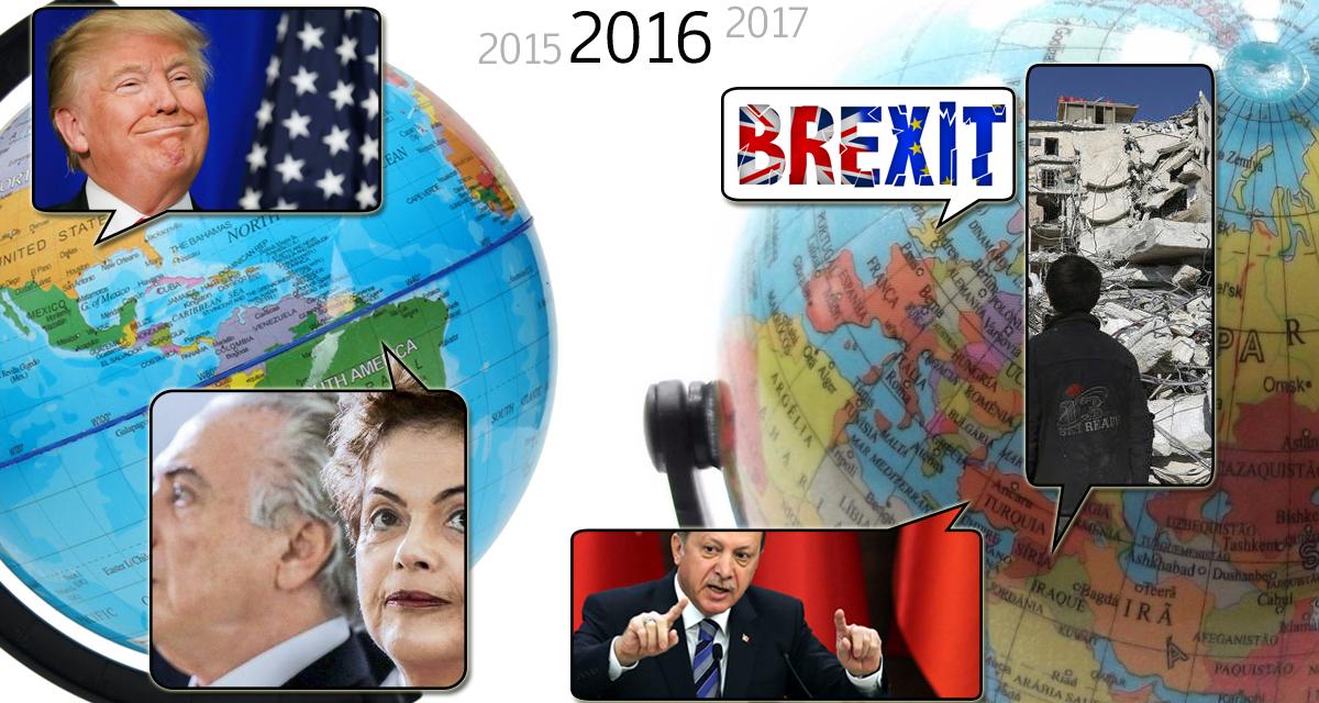 Balanço 2016 no mundo