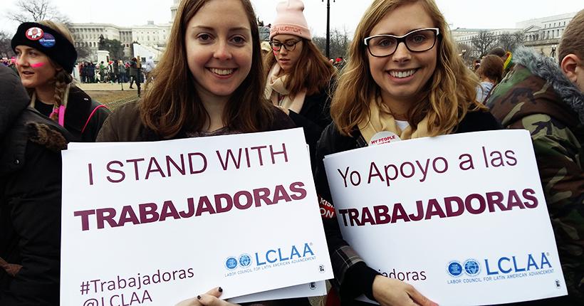 Manifestação das mulheres em Washington DC