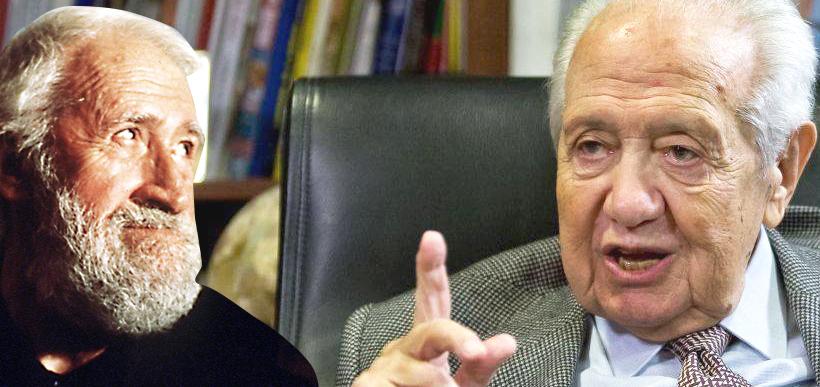 Agostinho da Silva e Mário Soares