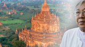 Htin Kyaw, o primeiro presidente eleito em eleições livres após 25 anos de política ditatorial