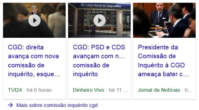 comissão CGD