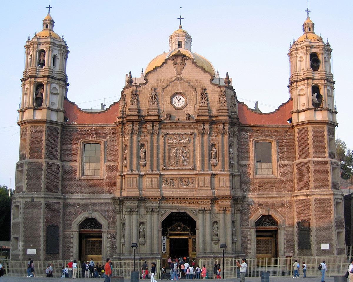 México religião | Nova Basílica do Templo de Guadalupe